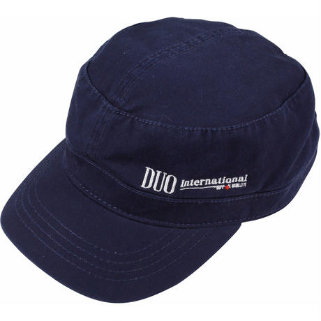 DUO刺繍ロゴ ワークキャップ/ネイビー