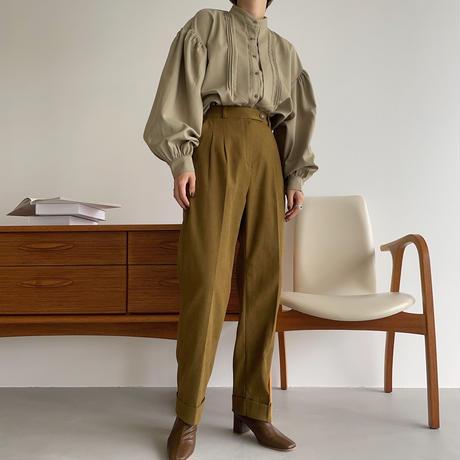 【nokcha original】2way lady gather blouse_nt1061