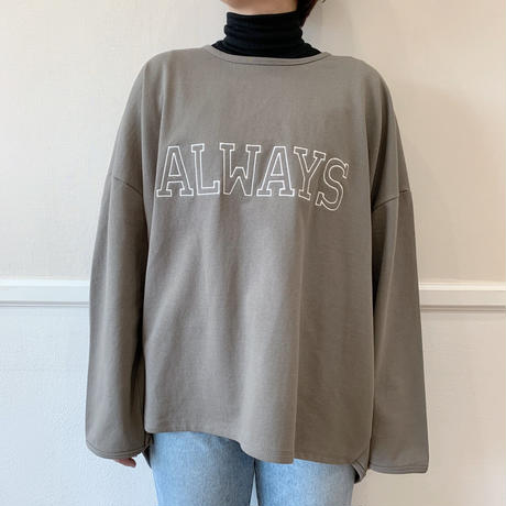 ✳︎予約販売✳︎always mtm/2colors