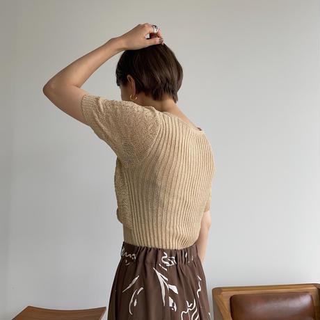 《予約販売》cache-coeur summer knit _nt1002