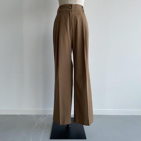 《予約販売》cotton wide pants/2colors_np0434