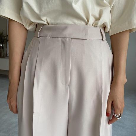 《予約販売》two tuck half pants/2colors_np0393