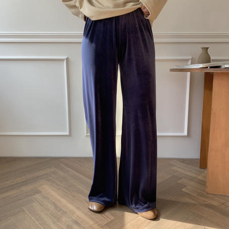 ✳︎予約販売✳︎velvet long pants/2 colors pants_np0068