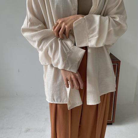 《予約販売》drop shoulder soft over shirt/2colors_nt0866