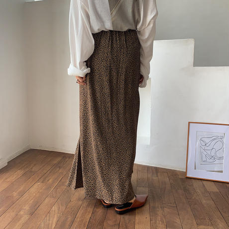 《予約販売》leopard long skirt_ns0041