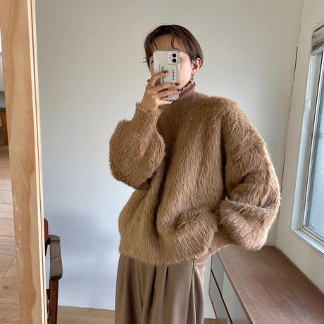 《予約販売》shaggy knit pullover/3colors_nt0782