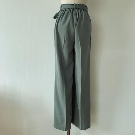 《予約販売》green pants_np0141