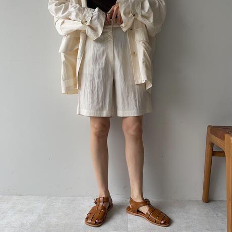 《予約販売》washer half pants/2colors_np0392