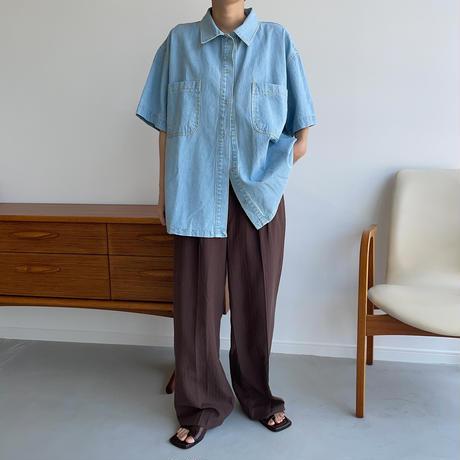 《予約販売》denim  shirt_nt0968