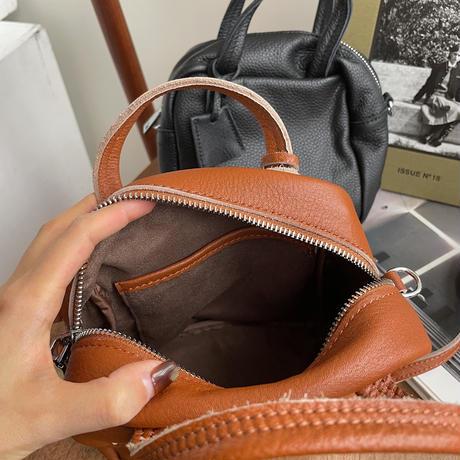《予約販売》leather 2way square bag/2colors_na0237
