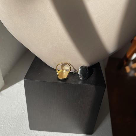 《予約販売》silver925 oval ring/2colors_na0258