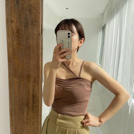 《予約販売》strap minimal cami/2colors_nt0869