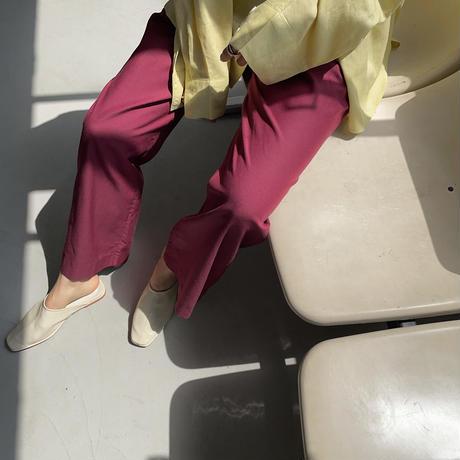 《green 数量限定!4月28日順次発送》【nokcha original】twill coloring pants/3colors_np0367