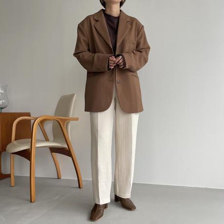 【nokcha original】rincl soft pants/ivory_np0468