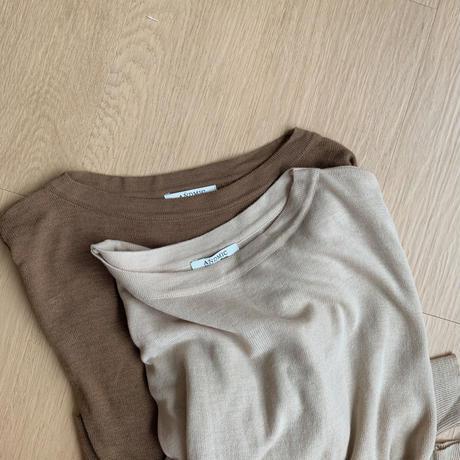 ✳︎予約販売✳︎dairy knit/2colors_nt0072