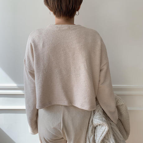✳︎予約販売✳︎ towely top/2 colors_nt0121