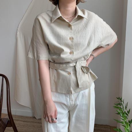 *予約販売*2way mini shirt/2colors_nb0013