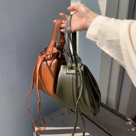 《予約販売》2way gather bag/2colors_na0142