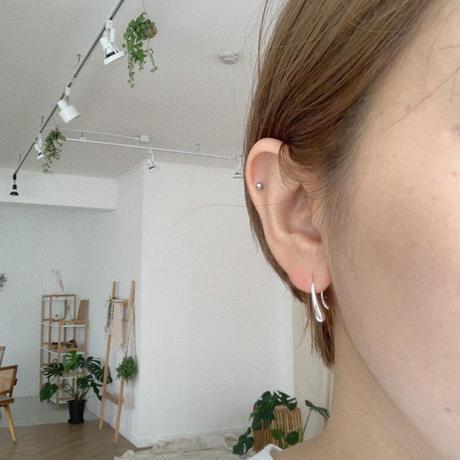 ✳︎予約販売✳︎silver925 hang pierce_na0050