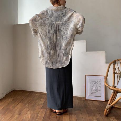 《予約販売》bokashi rincl blouse/2colors_nt0530