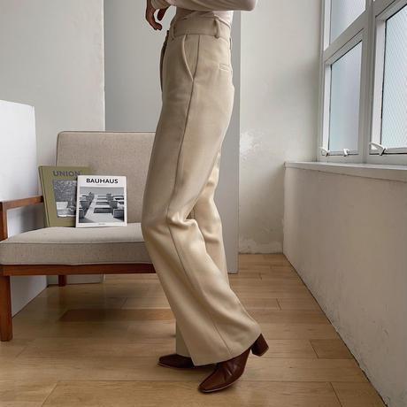 《予約販売》texture straight warm pants/2colors_np0308