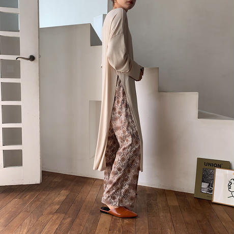 《予約販売》python easy pants/2colors_np0261