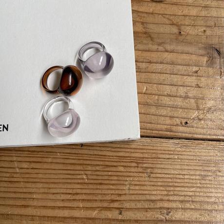 《予約販売》sheer ball ring/3colors_na0254