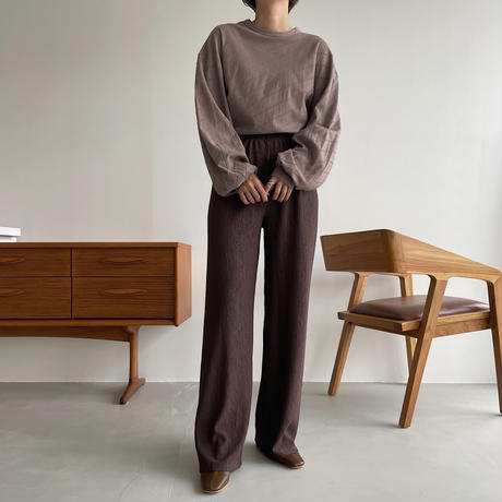 《予約販売》natural rincl pants/3colors_np0462