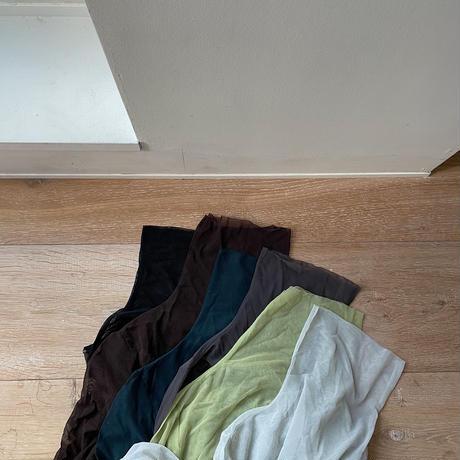 《予約販売》gather see-through tops/6colors_nt0784