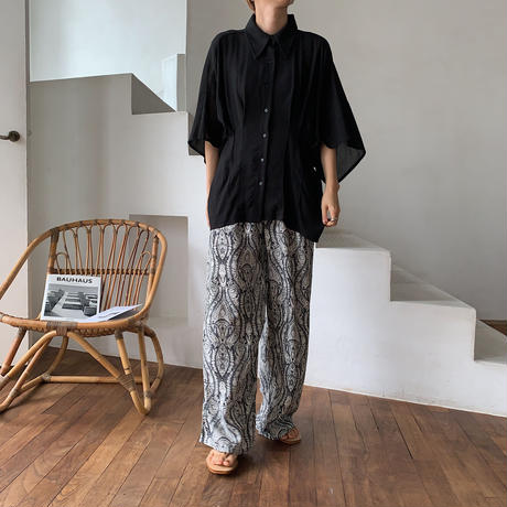 《予約販売》paisley easy pants/2color_np0240