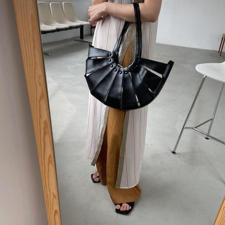 《予約販売》pouch set half moon bag/2colors_na0285