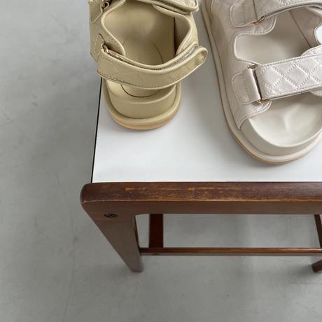 《予約販売》quilting sports sandal/2colors_na0282