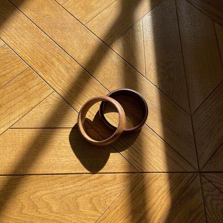 《予約販売》wood bangle/2colors_na0264