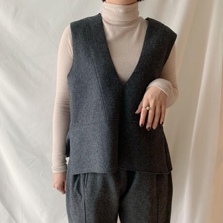 *予約販売* vest set up/2colors
