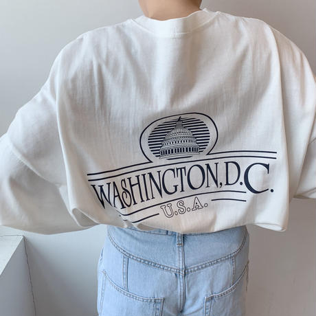 ✳︎予約販売✳︎Washington T/2colors_nt0010