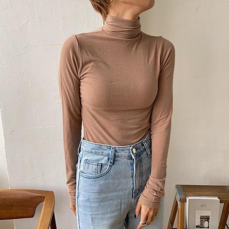 《予約販売》simply high neck tee/4colors_nt0715