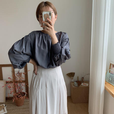 ✳︎予約販売✳︎lady puff blouse/2colors_nb0030
