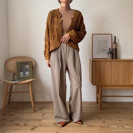 《予約販売》bone knit cardigan/2colors_nt0630