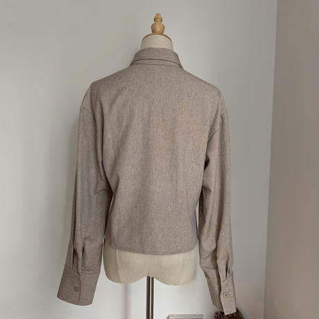 《予約販売》melange minimal jacket_no0025