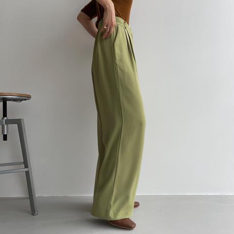 《予約販売》material long wide pants/3colors_np0458