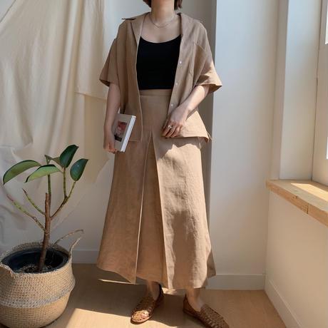 ✳︎予約販売✳︎tuck skirt set up