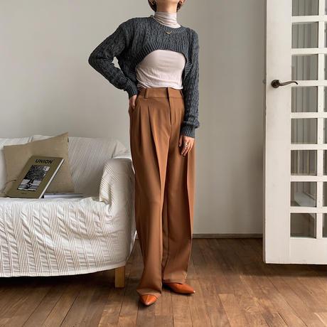 《予約販売》minimal unique knit/3colors_nt0625
