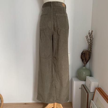 《予約販売》corduroy daily pants/2colors_np0294