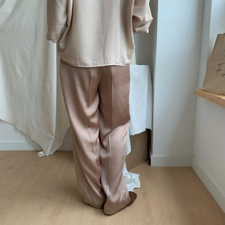 satin slacks/2colors_np0039
