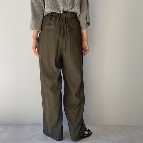 《予約販売》tuck cocoon pants/2colors_np0379