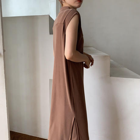 【nokcha original】material lady ops/brown_nd0068