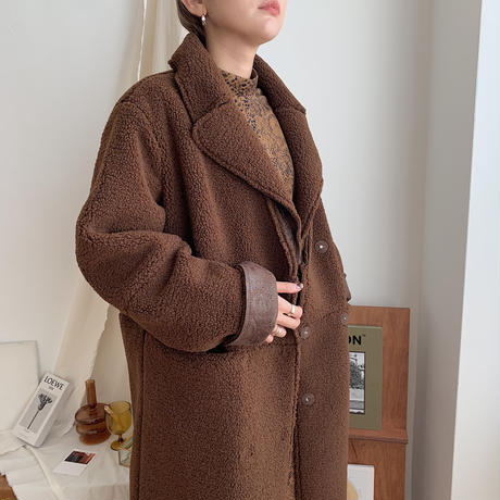 ✳︎予約販売✳︎boa long coat/2colors_no0053