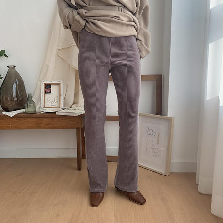 ✳︎予約販売✳︎corduroy flare relax pants/2colors_np0105
