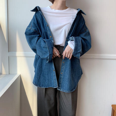 ✳︎予約販売✳︎denim shirt JK/2colors