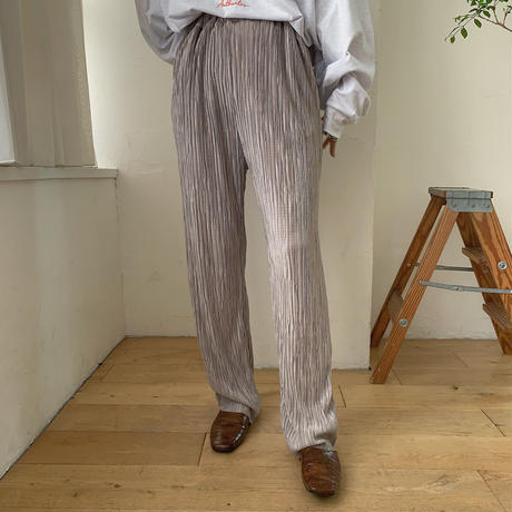 《予約販売》glossy daily rincl pants/2colors_np0257